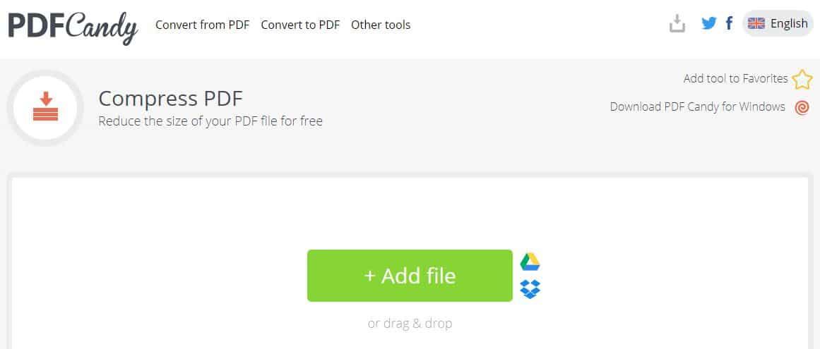 pdf candy online pdf compresser