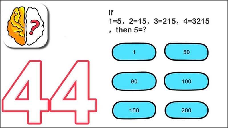 Brain Out Level 41-60 Answer Key
