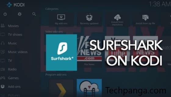 SurfShark on Kodi
