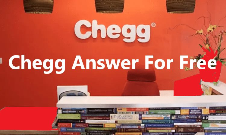 Chegg answer for free