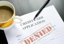 Denied application based on your credit