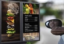 Digital Signage for Your Restaurant's Drive