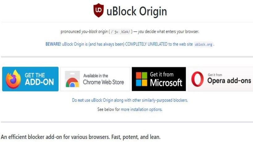 uBlock Origin Twitch Error Fixed