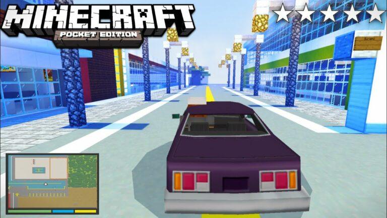Download Minecraft GTA V Mod    GTA 5 mod in Minecraft PE 2021