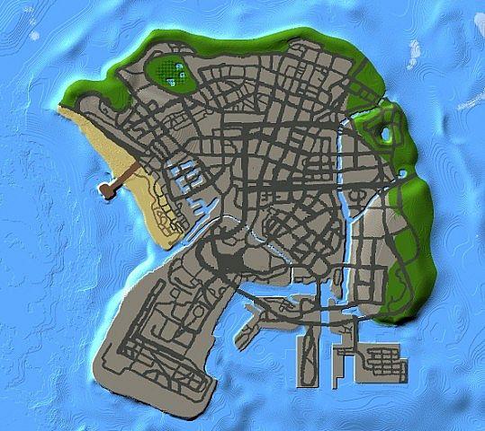 Minecraft GTA V Mod map